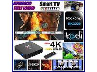 ANDROID TV BOX 4K HD✔️X99 4k ✔️FULLY LOADED✔️2Ghz✔️KODI✔️MOVIES LIVE TV✔️SPORTS✔️KIDS TV