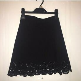 Black skirt from Missguided size 6