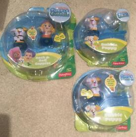Bubble Guppies bundle - Deema and puppy and two single puppy packs