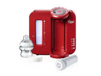- _ £39 Tommee Tippee Closer to Nature Perfect Prep Machine {Red} £39 -_