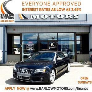 2010 Audi S5 3.0 Premium (S tronic)SUPERCHARGED/LOADED**SPRING