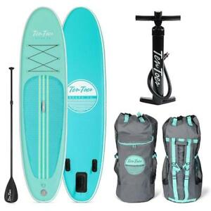 NEW Ten Toes SUP Emporium Ten Toes Weekender Inflatable Stand up Paddle Board Bundle