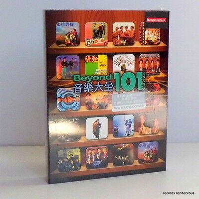 Beyond 101 Best Box[5-CD+DVD Live 1991] NEW Hong Kong Ka-Kui Wong Paul Band