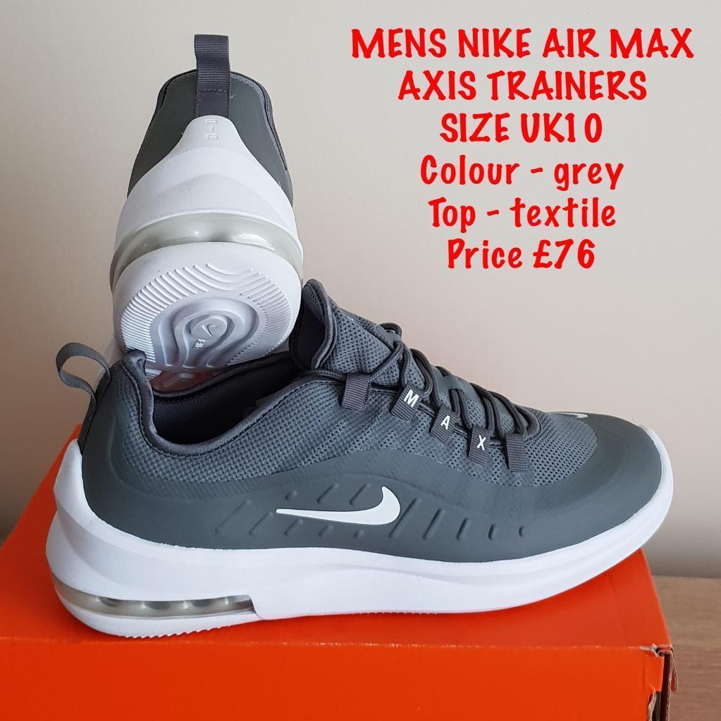 MENS NIKE AIR MAX SIZE UK 10 | in