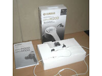 Yamaha EPH-M200 In Ear MFi Certified Dynamic Sound Headphones Earphones RRP £99
