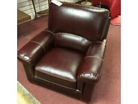 Brand New Leather Armchair = RRP £999