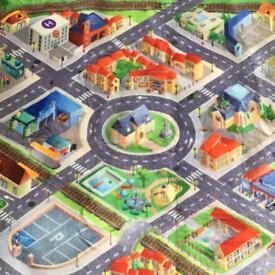 Play roads mat