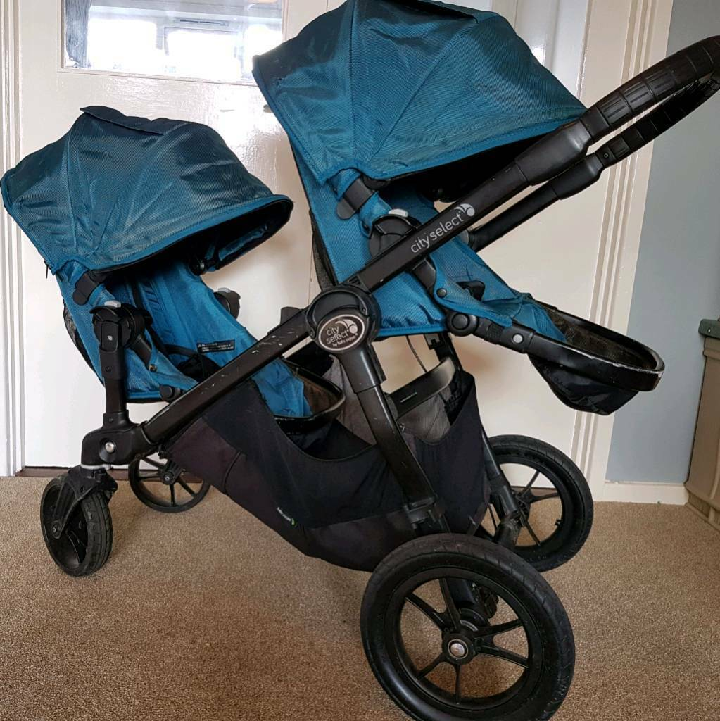 Babyjogger city select double tandem pushchair