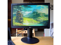 """LG W2242P monitor with adjustable stand - 22"""" / 16:10"""