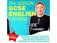 Online GCSE English Tuition! Try this course explained by a qualified teacher & GCSE Examiner!