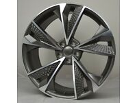 """20"""" RS7-20 Style Wheels & Tyres will fit Audi A4, A5, A6 etc"""