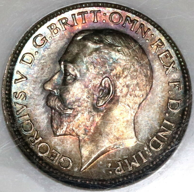 1911 NGC MS 65 George V 4 Pence Maundy Mint State Great Britain Coin (19101604C)