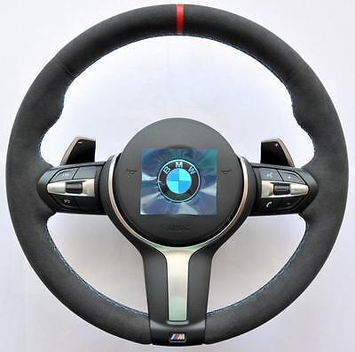 BMW M Sport PERFORMANCE F30 F31 F32 F20 F21 X1 X3 X5 X6 ALCANTARA Steering wheel for sale  United Kingdom