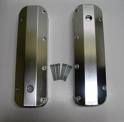BB Ford FABRICATED Aluminum Tall Valve Covers BBF 429 460 1/4