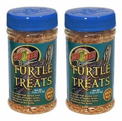 - (2 Pack) Zoo Med Turtle Treat, 0.35 Ounces Each