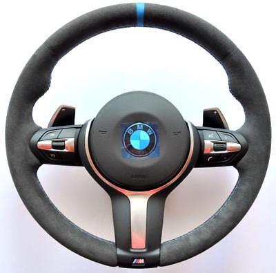 HEATED BMW F30 F31 F20 X1 X3 X5 X6 M Performance Alcantara Sport steering wheel for sale  United Kingdom