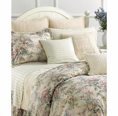 Ralph Lauren Winter Garden Pastel Floral King Duvet Cover 14PC Set New