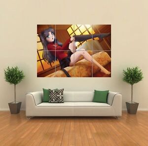 FATE STAY NIGHT ANIME MANGA 4 ART PRINT POSTER PICTURE GIANT HUGE G922