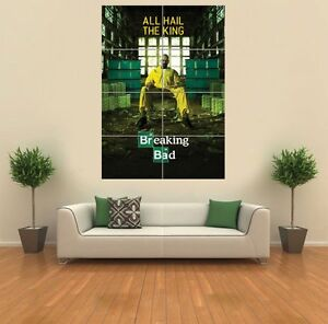 BREAKING-BAD-ALL-HAIL-THE-KING-GIANT-WALL-ART-PRINT-PICTURE-POSTER-G1153