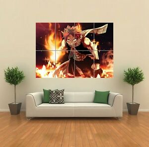 FAIRY-TAIL-NATSU-DRAGNEEL-ANIME-MANGA-GIANT-ART-PRINT-PICTURE-POSTER-G1097