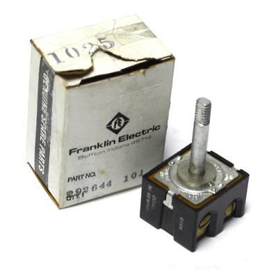 Franklin Electric Switch - NEW FRANKLIN ELECTRIC 292644 101 SWITCH