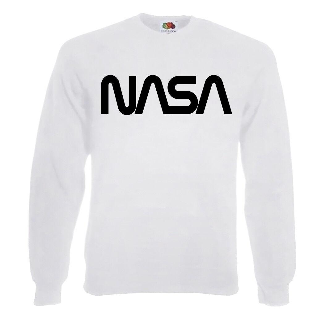 TRVPPY Herren Pullover Sweater NASA 2 Space Force Astronaut Größe S-2XL