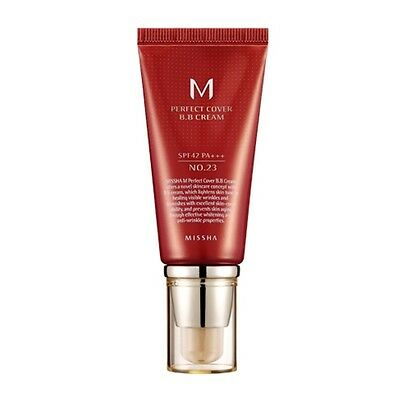 [MISSHA] M Perfect Cover BB Cream SPF42/PA+++ (#23) 50ml  -Korea cosmetics