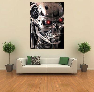 TERMINATOR 2 ROBOT SKELETON NEW GIANT ART PRINT POSTER PICTURE WALL G204