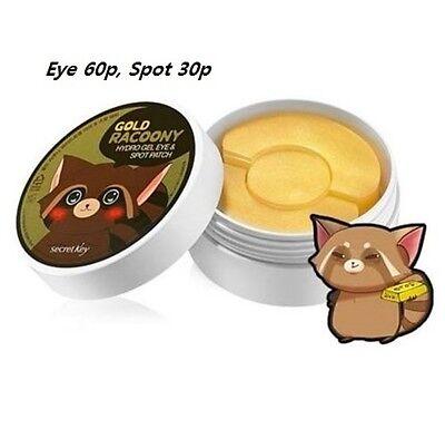 [Secret Key]  Gold Racoony Hydro Gel Eye & Spot Patch  / 90Patch
