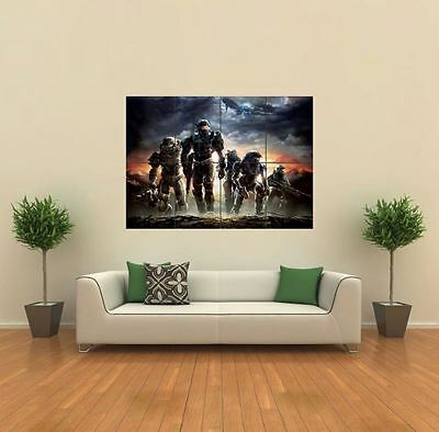 HALO REACH XBOX GAME NEW GIANT LARGE ART PRINT POSTER PICTURE WALL G496