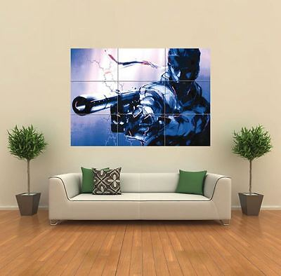 2 XBOX ONE PS3 PS4 PC GAME METAL GEAR SOLID 2 GIANT ART PRINT POSTER OZ1219