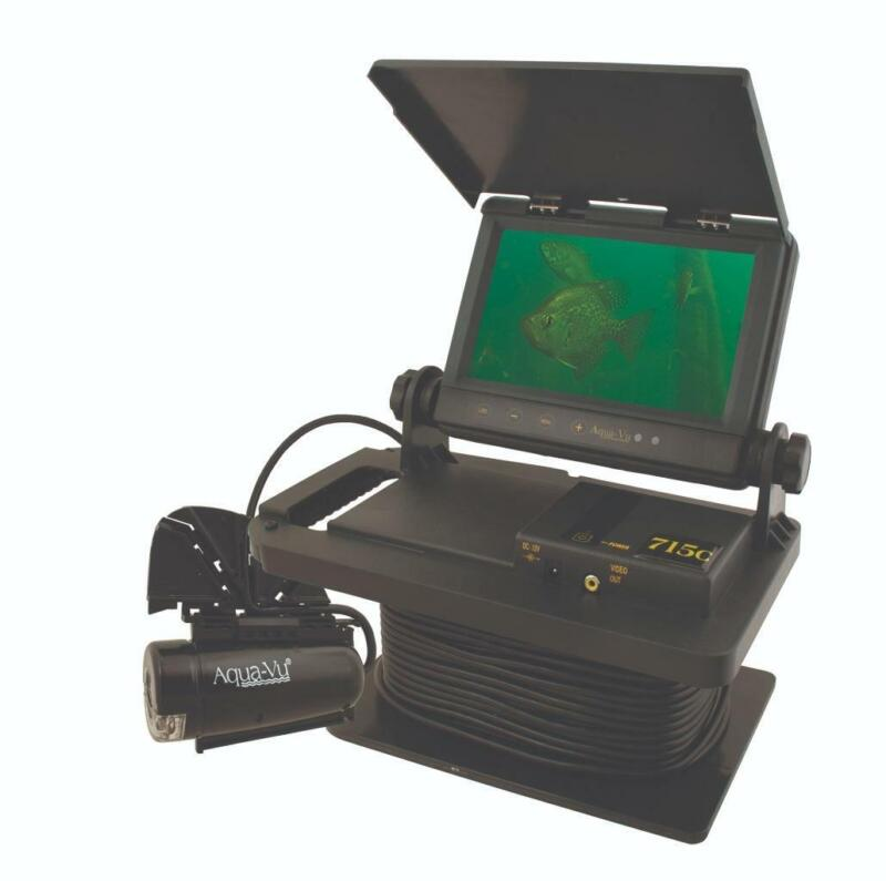 "Aqua-Vu AV715c Underwater Fishing Camera 7"" Color LCD Screen and 50-Feet Cable"