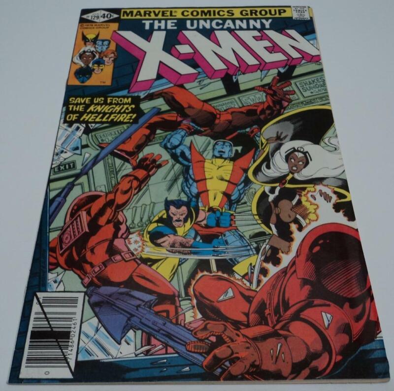 X-MEN #129 (Marvel Comics 1980) 1st app KITTY PRYDE & EMMA FROST (FN/VF)