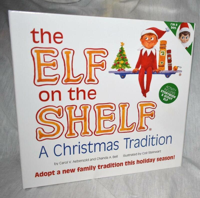 The Elf On The Shelf A Christmas Tradition Book And Doll ~~NEW~~SHIP FAST~~