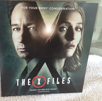 The X Files, FYC Promo DVD 2016 Fox TV