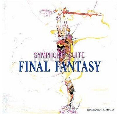 FINAL FANTASY SYMPHONIC SUITE CD Soundtrack Music MIYA Records OST