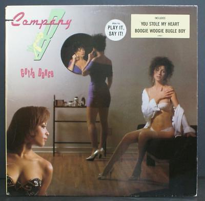 Company B   Gotta Dance   Electronic Promo Vinyl Lp