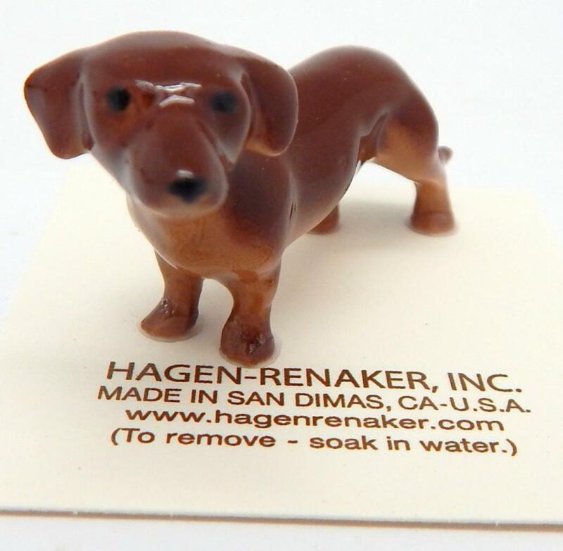 Hagen Renaker Dachshund #347