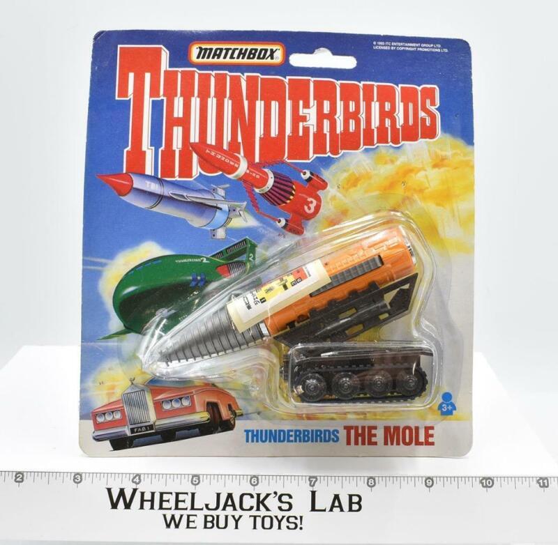 "The Mole 5"" Diecast Thunderbirds New MOSC 1993 Vintage Matchbox"
