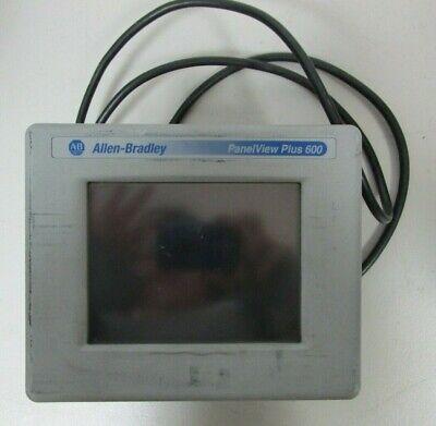 Allen Bradley Panelview Plus 600 2711p-t6c5a Ser. A
