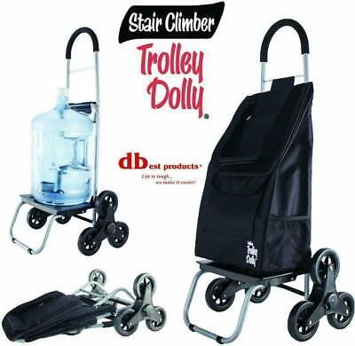 Stair Climbing Hand Truck Trolley Dolly Wheels Climber Folding Shopping Cart