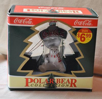 Punta 1995 Coca-Cola Oso Polar Colección Encendido Botella Abridor Ornamento