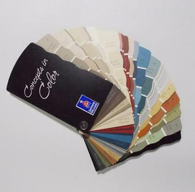 Sherwin Williams Concepts In Color Fan Deck Samples Swatches 2007