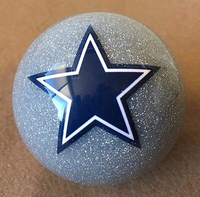 NFL Dallas Cowboys Silver Ball Pool Balls w/ FREE Shipping