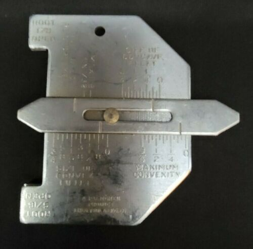 A. Palmgren/Chicago Tool & Eng Co. - Welding Gauges/Measuring/Inspection Tool