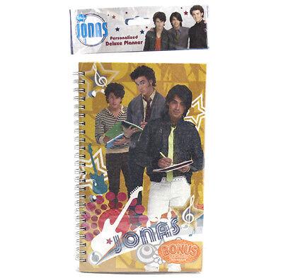 Disney Jonas Brothers Weekly Student Planner Work School Academic Agenda Bonus
