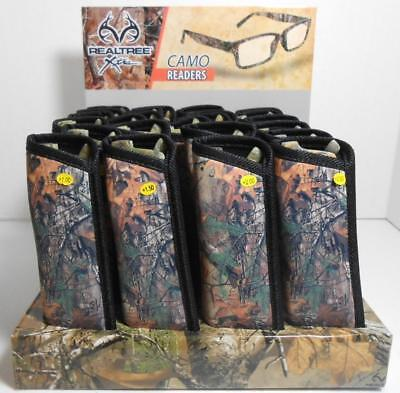 Camouflage Camo Reading Glasses with Soft Case Pouch Matte Finish (Camo Glasses)