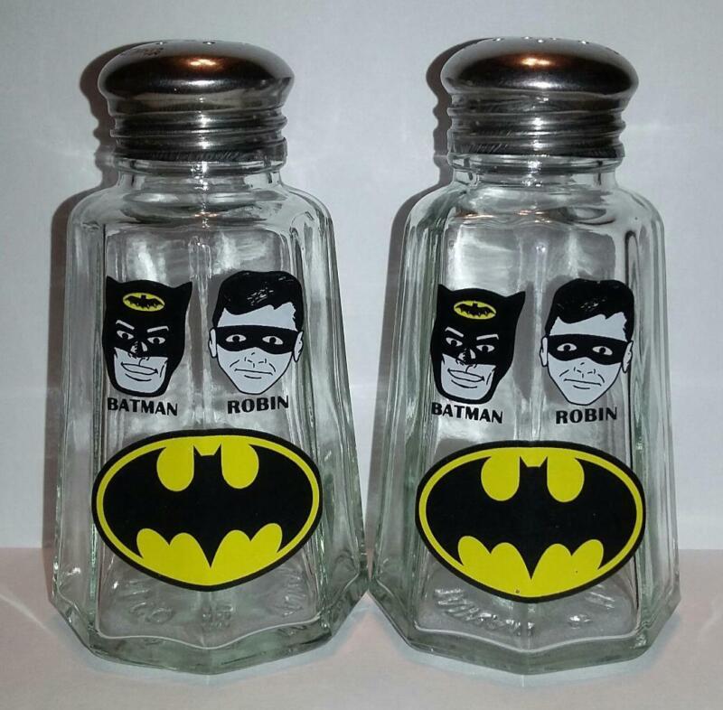Set Batman Salt and Pepper Shakers # 1