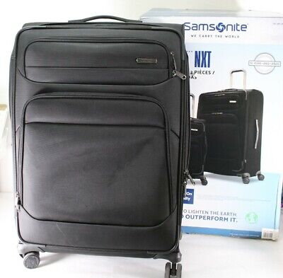 Samsonite Epsilon NXT 2-piece Softside Spinner Luggage Set Black Free Shipping