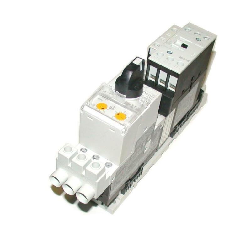 Eaton  DIL M17-01 XTCEO18C01  PKE12 XTPE12B  Motor Starter Overload